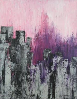 Purple Rain von Karin Amtmann