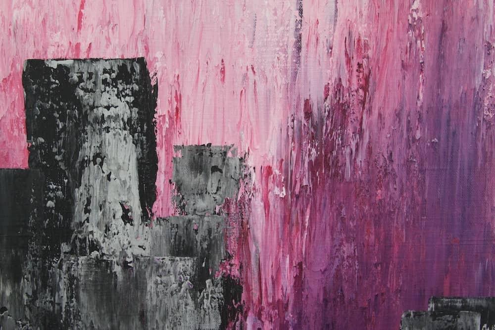 Purple Rain - ein Bild unserer Künstlerin Karin Amtmann