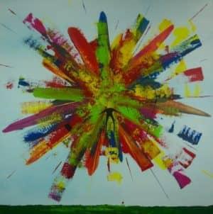 Burnout #2 - ein tolles Werk von Simon Kohler