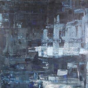 Dies ist Nachtens eisig, ein Gemälde von D2a
