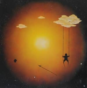 Simon Kohler malte dieses tolle Werk mit dem Namen Promised Trust