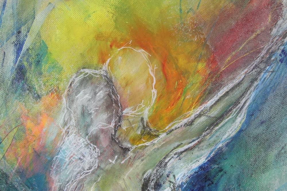 Philomena - ein farbenfrohes Bild von Regina Maier