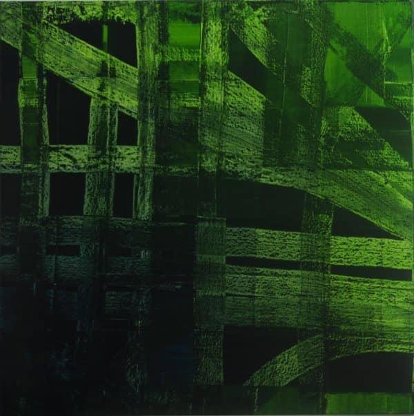 Ankommen - ein Bild der Künstlerin D2a, erhältlich bei Untitled Premium Modern Art
